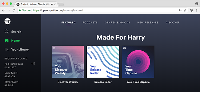 How to Listen to Spotify with Your Web Player