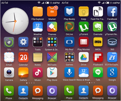 Mi home android launcher