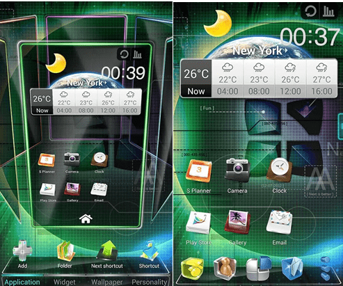 Next android launcher