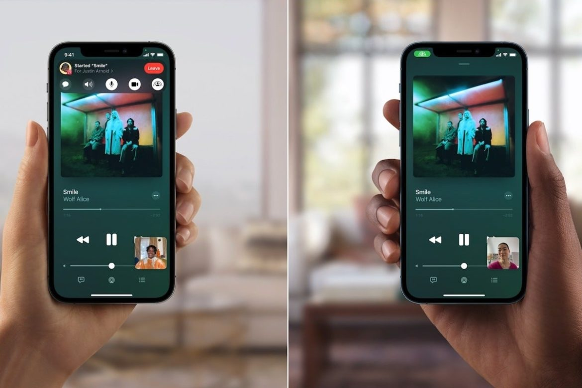 Apple delays iOS 15's SharePlay co-watching feature
